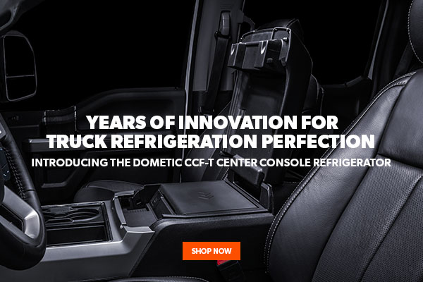 Introducing the NEW Dometic CCF-T Center Console Refrigerator