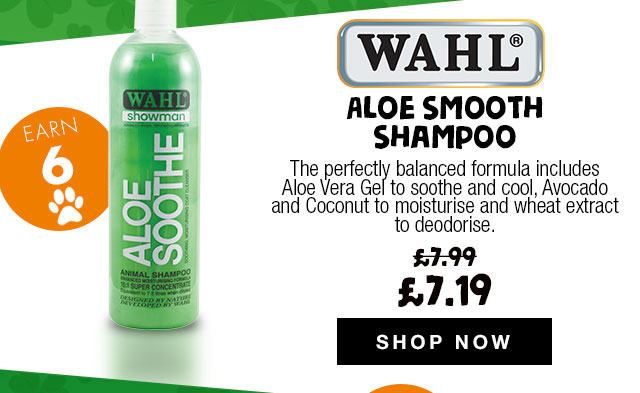 10% Off Wahl Aloe Smooth Shampoo