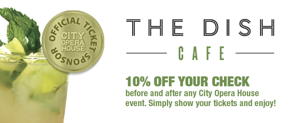 Save 10% at The Dish Cafe