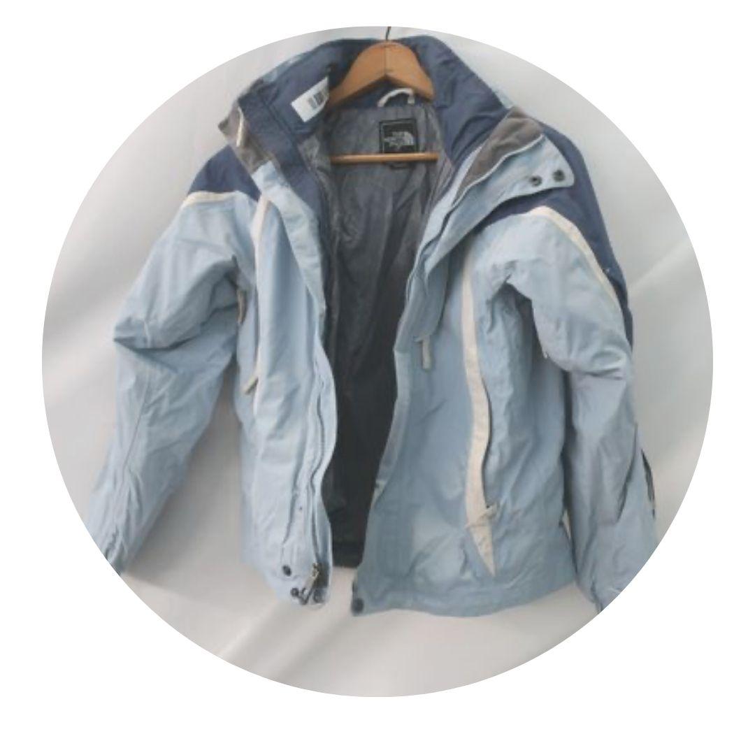 North Face Blue Tones Coat