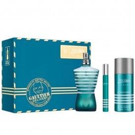 ''''Le Male''''  Eau De Toilette 75ml, Deodorant 150ml & Travel Spray 10ml Gift Set
