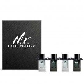 Mr Burberry Eau De Toilette 7ml x 4 pieces Miniature Gift Set