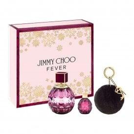 FEVER Eau De Parfum 60ml, Miniature 4.5ml & Pom Pom Gift Set