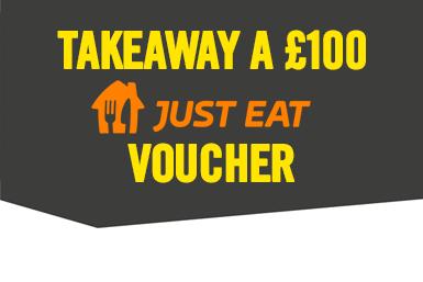 Takeaway a 100 GBP Just Eat Voucher