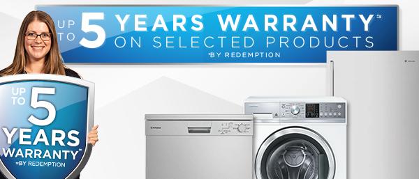 Hot Deals - 5 Year Warranty