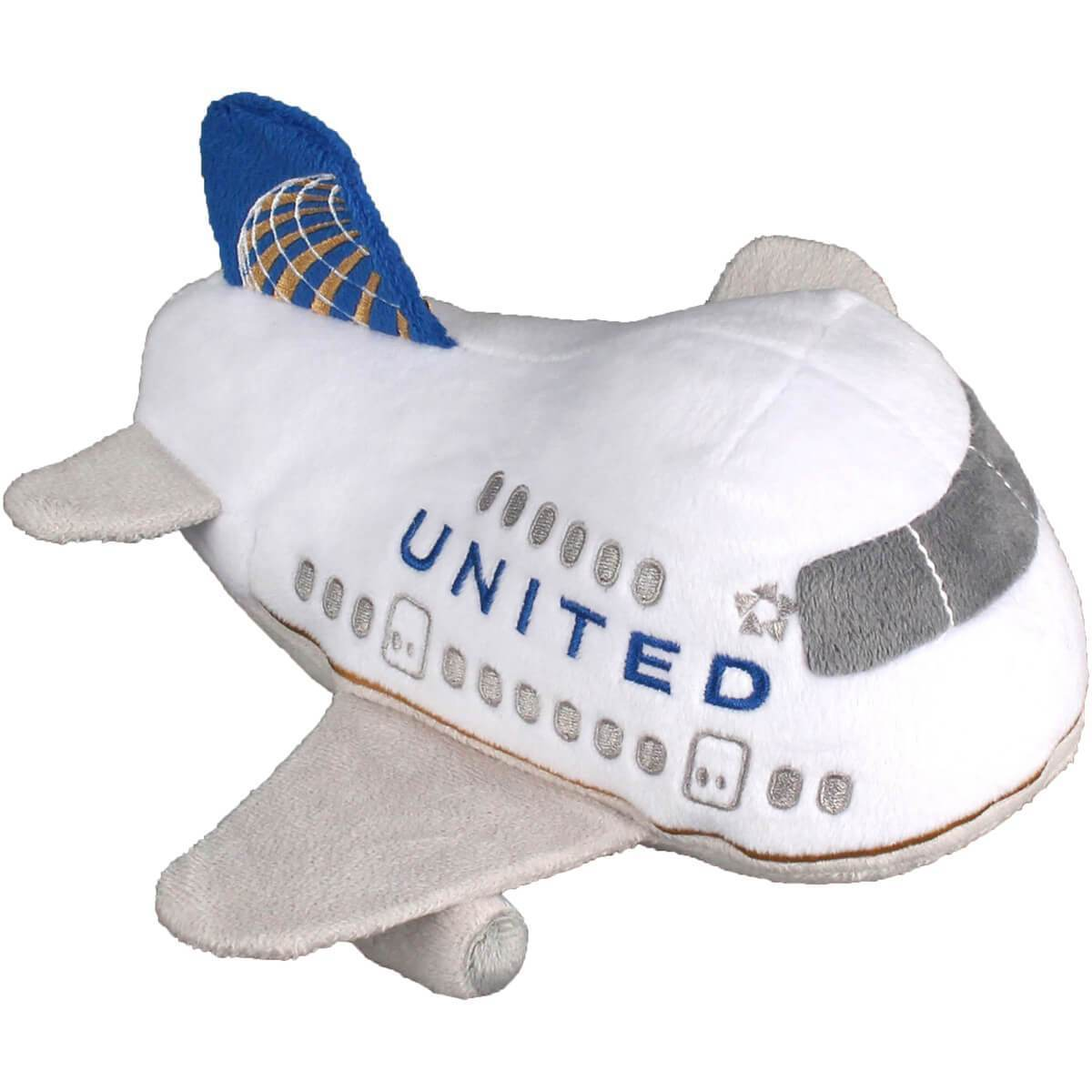 United Airlines Plush Toy w/Sound