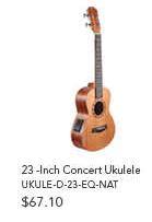 23 -Inch Concert Ukulele