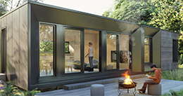 Le Refuge - An Architect-Designed Modern Green Prefab 2-Bed Home