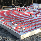 Legalett Air-Heated Slab-on-Grade Kits