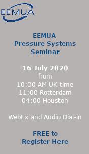 EEMUA Pressure Systems Seminar