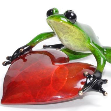 "Artist Tim Cotterill ""Frogman"""