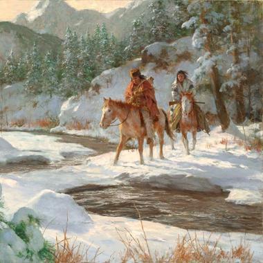Artist Howard Terpning