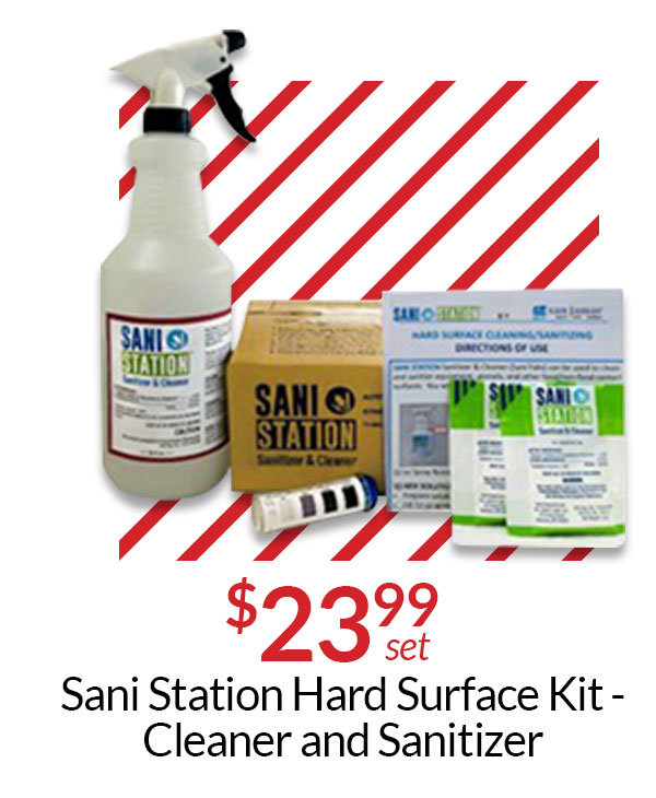 Don''t Forget Your Cleaning Supplies!