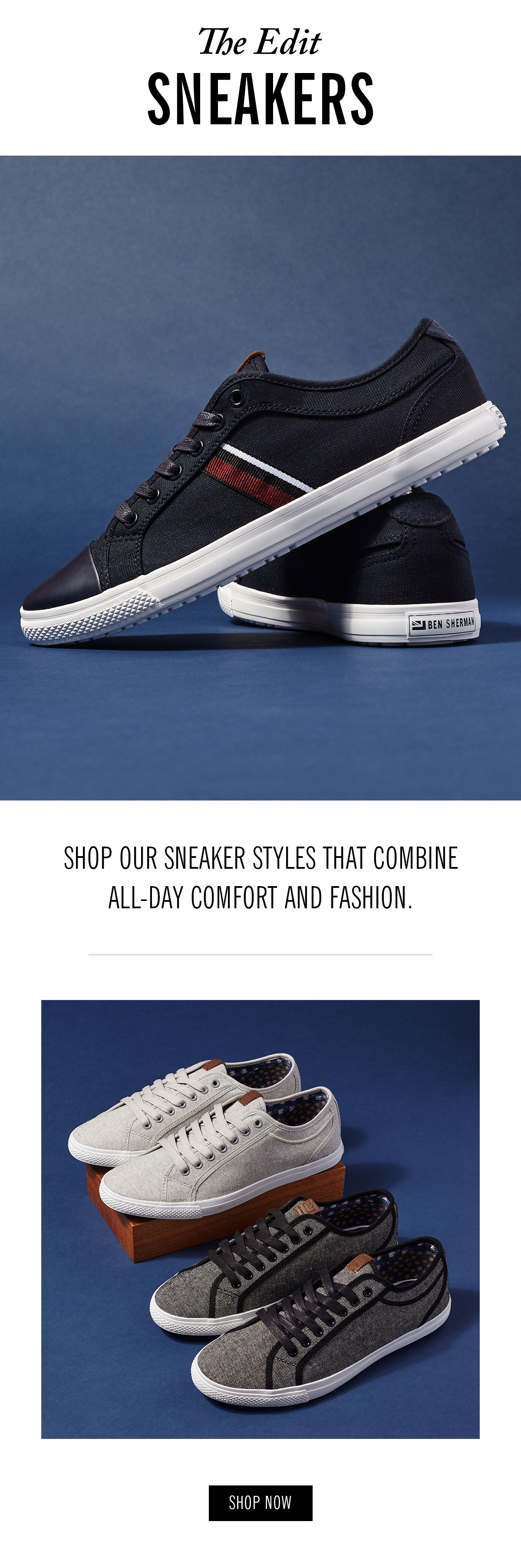 Sneaker styles that combine all-day comfort and fashion | Shop Now