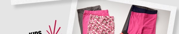 Kids legging sets as shown $7.99 and under