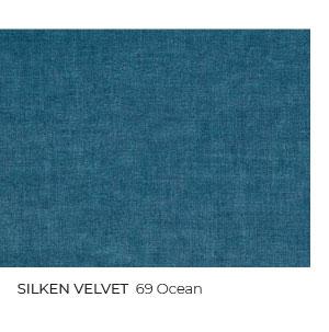 Silken Velvet in Ocean