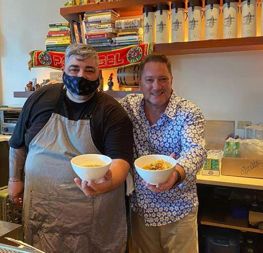 Chef Telmo & Liam