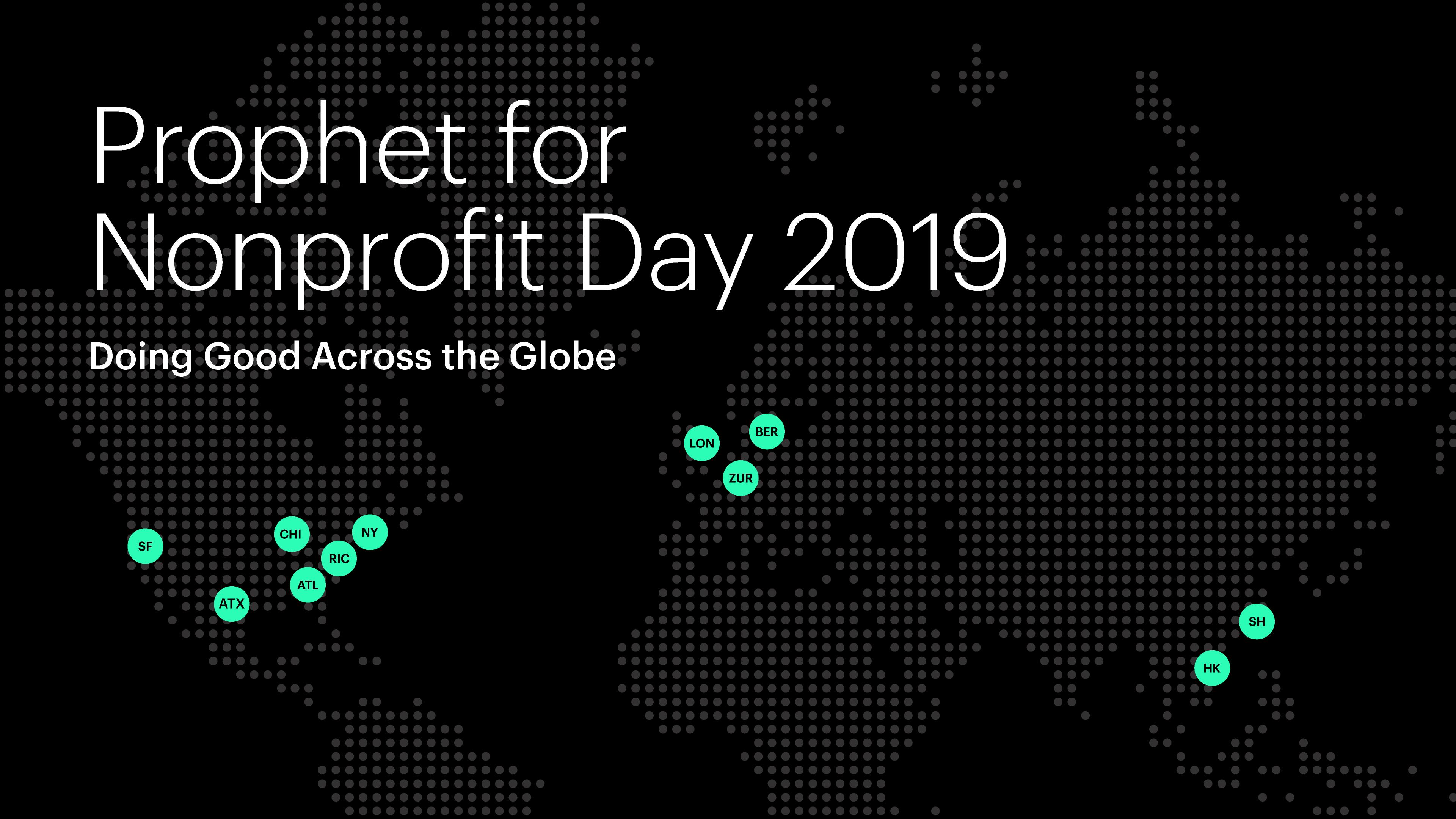 Prophet for Nonprofit Day 2019