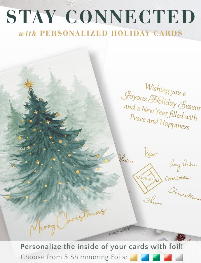 Stay Connected with Personalized Holiday Cards
