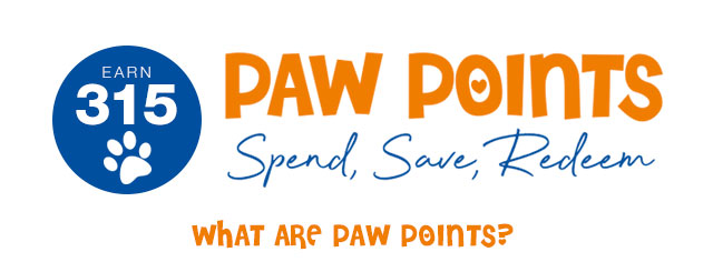 Earn Paw Points With Every Order