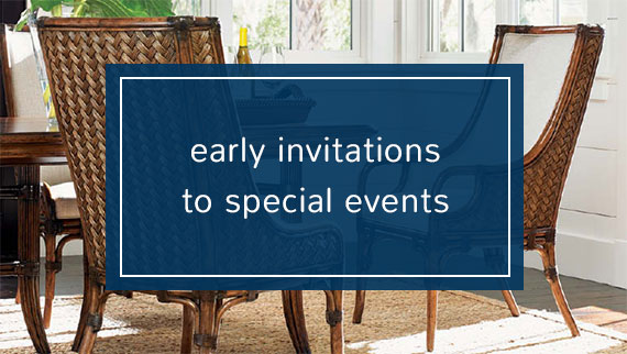 Early invitations to special events.