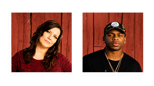 Martina McBride and Jimmie Allen