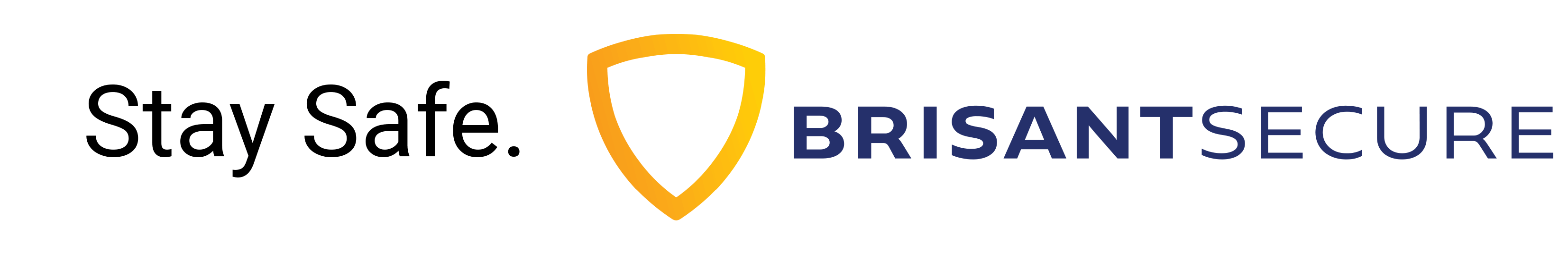 Stay Safe. Brisant-Secure.