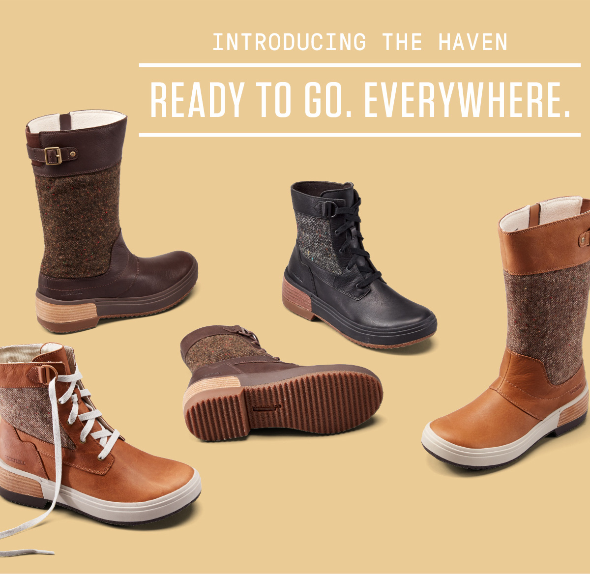 INTRODUCING THE HAVEN - READY TO GO. EVERYWHERE.