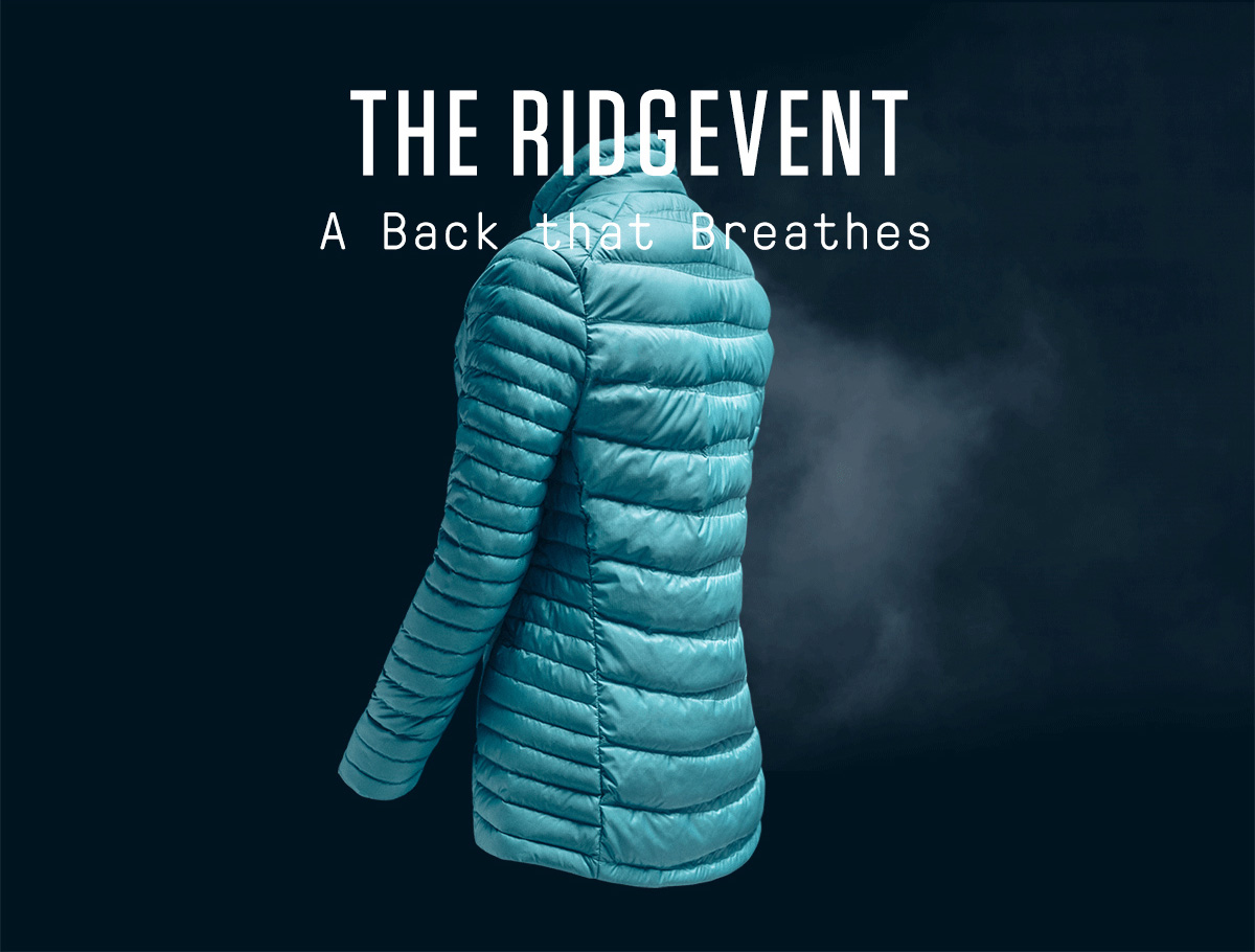 THE RIDGEVENT - A BACK THAT BREATHES