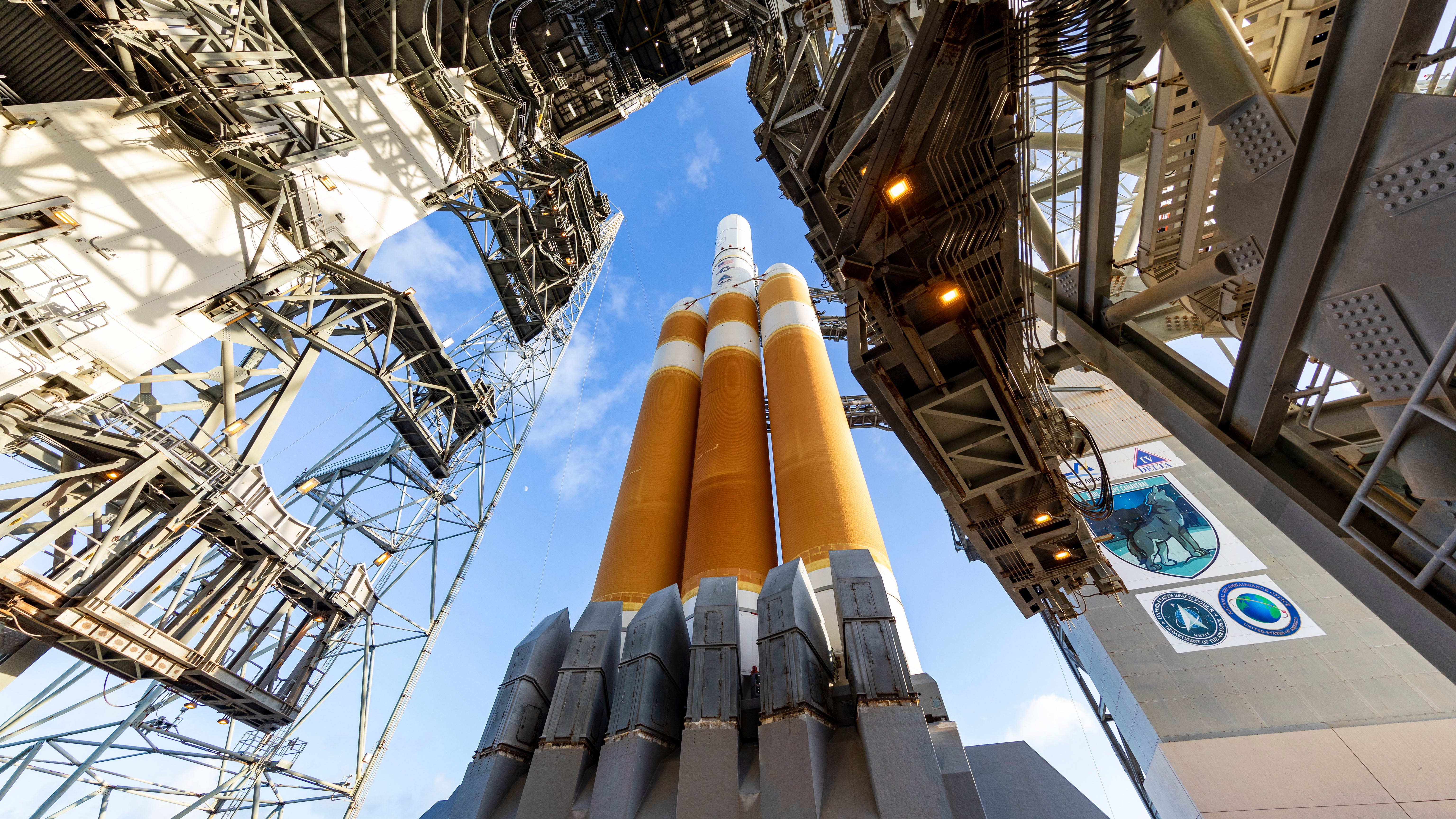 United Launch Alliance's Delta IV Heavy rocket is