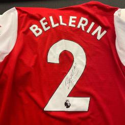 Hector Bellerin Match Issue Shirt