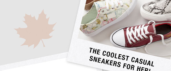The coolest casual sneakers for her