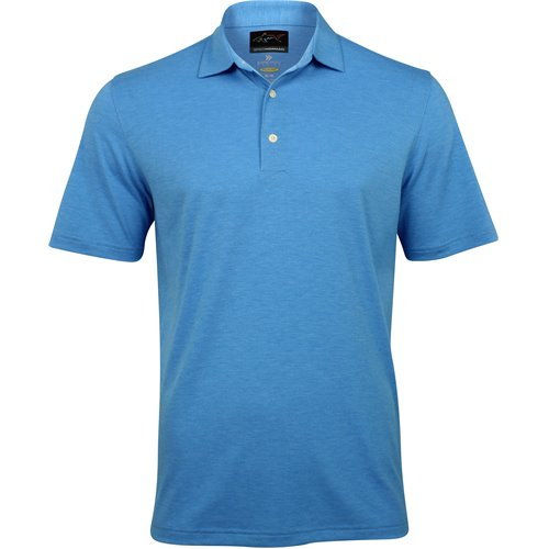 Greg Norman Forward Series Heathered Solid Shirt
