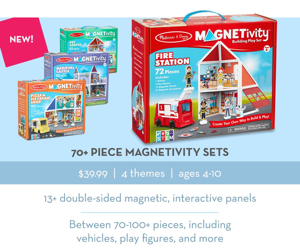70+ Piece Magnetivity Sets