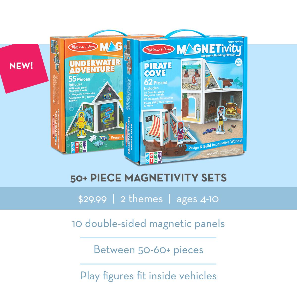 50+ Piece Magnetivity Sets