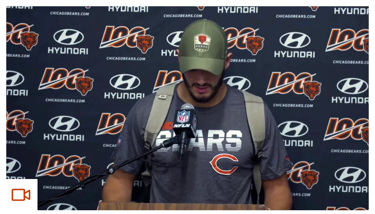 Trubisky: Tonight didn't go the way we wanted to