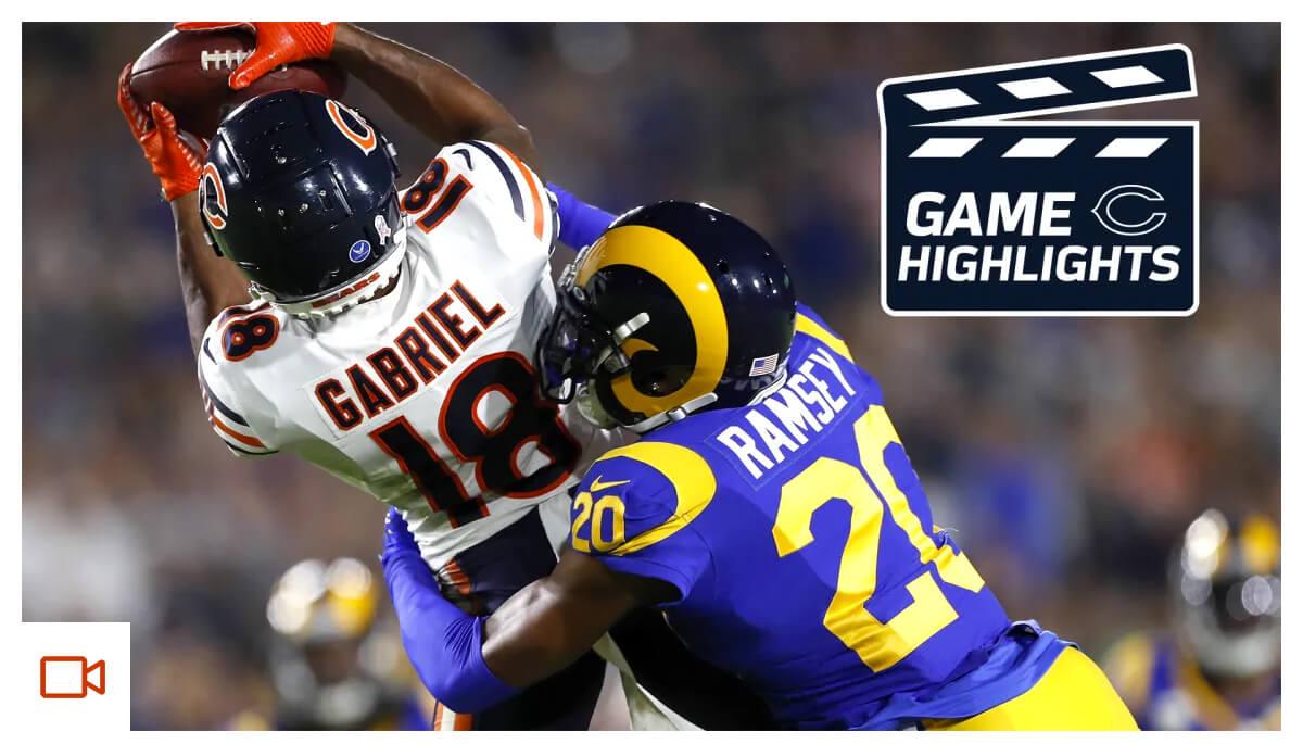 Highlights: Bears at Rams