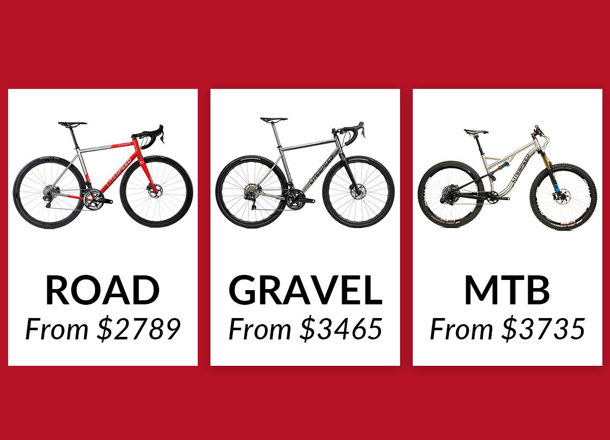 Shop Litespeed road, gravel and mountain bikes now!