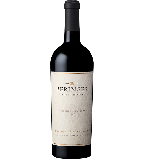 Bottle Shot: 2016 Bancroft Cabernet
