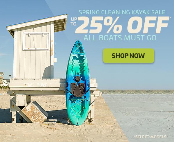 Spring Cleaning Kayak Sale