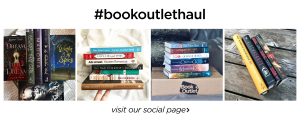 Share your book haul with us using #bookoutlethaul