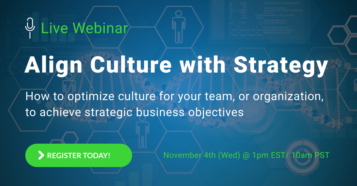 Webinar Registration: Align Culture with Strategy