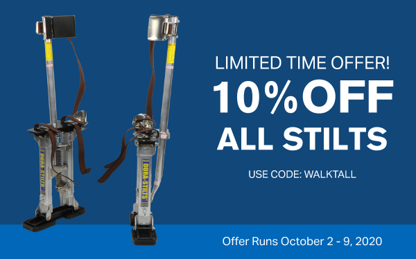 10% off stilts