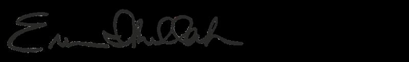 Erum Ikramullah signature