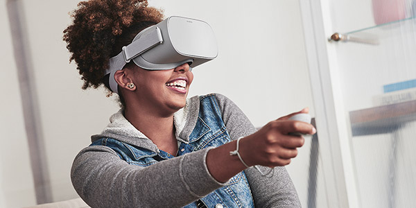 Shop Oculus Go Gray 32GB Standalone Virtual Reality Headset