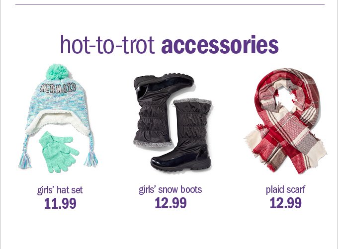 hot-to-trot accessories