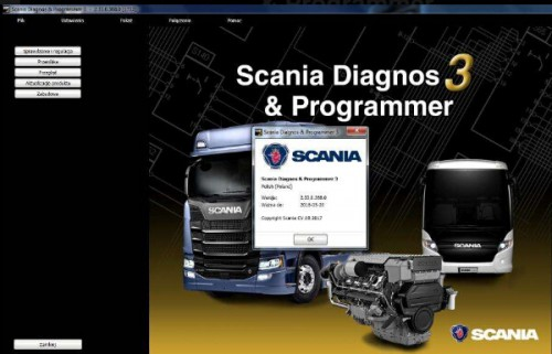 Scania SDP3 2.44.1 Diagnosis & Programmer + Activation without Dongle