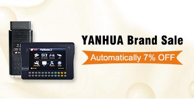 Yanhua Sale 7% Off