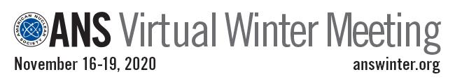 ANS Virtual Winter Meeting 2020