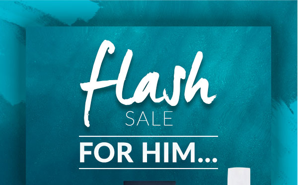 Flash sale for him